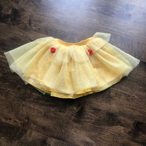 Disney Princess Beauty & the Beast Yellow Skort